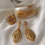 Set of Gold Jewelry